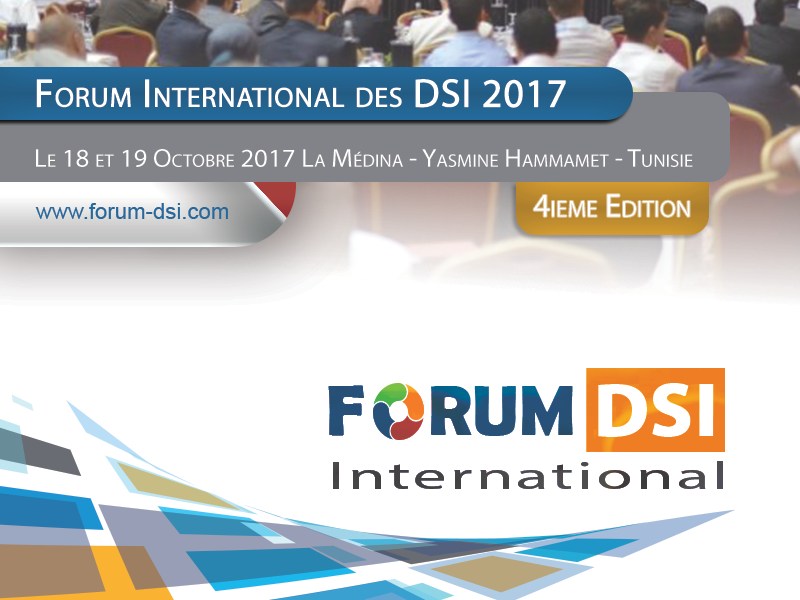 QUALIPRO le Partenaire Officiel du Forum International des DSI 2017