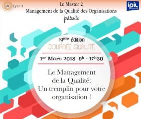 QUALIPRO sponsorise la 19ème édition de la Journée Qualité - Lyon