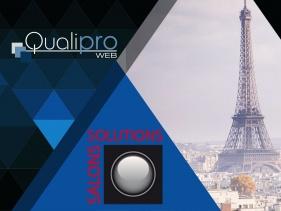 Qualipro aux salons des solutions Paris, édition 2018